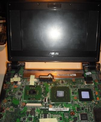 Oprava netbooku ASUS Eee PC 4G