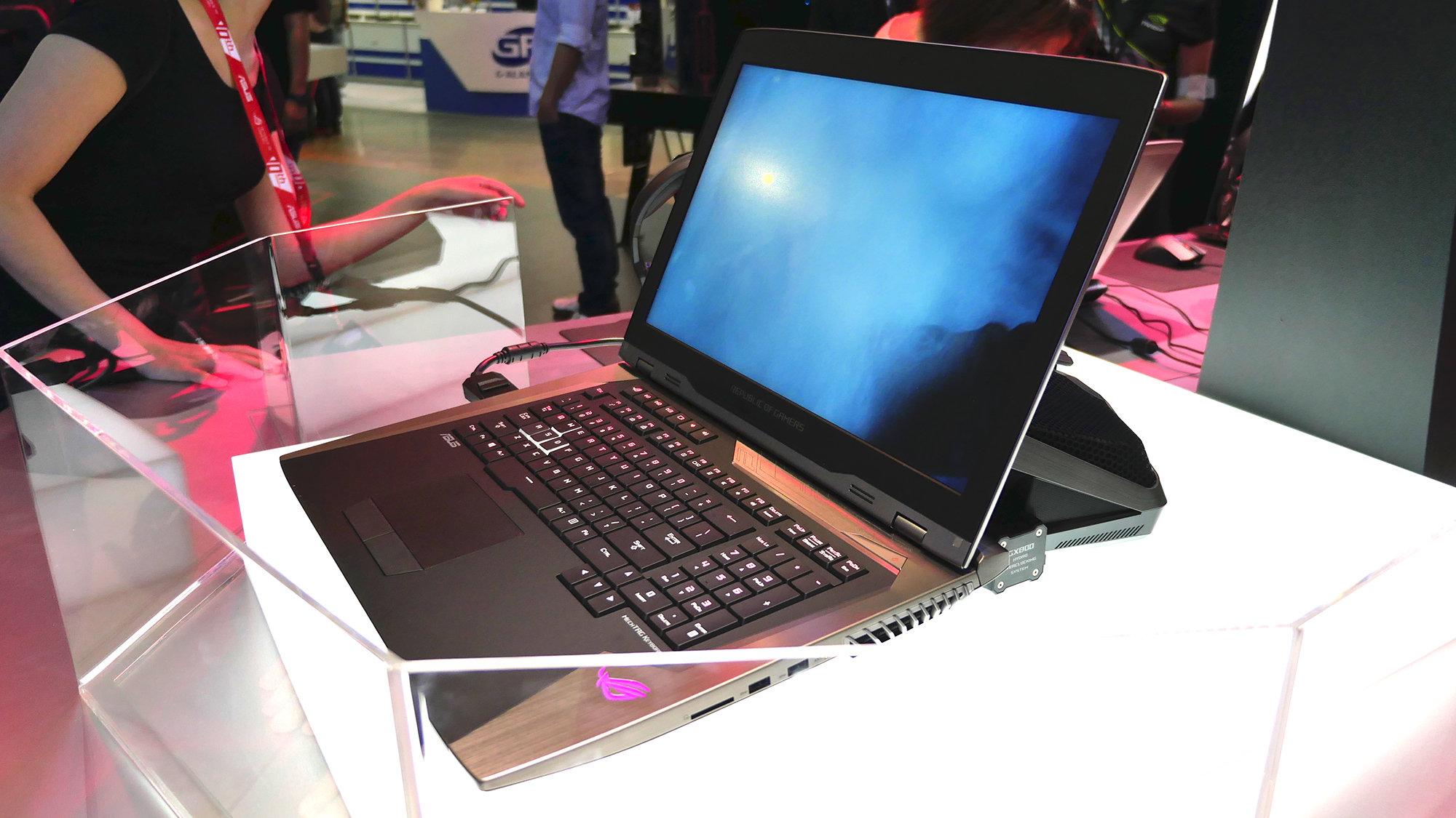 Herni notebook ROG GX800
